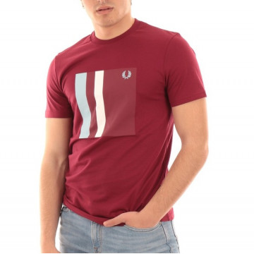 TSHIRT FRED PERRY TWIN TIPPED