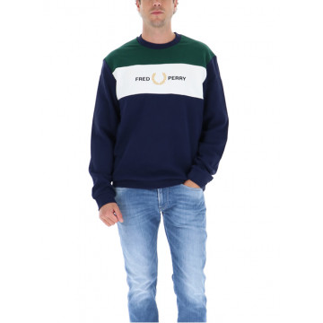 SWEATSHIRT EMBROIDERED M8597.